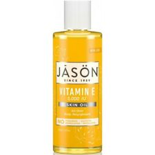 Jason Organic VITAMIN E 5,000 IU Face & Body Skin Oil 118ml 5000 Scars/Wrinkles
