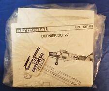 Airmodel #128 Dornier DO 27 1950s German Military Vacu-Form 1/72 Open Complete