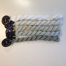 Planet Earth Single Ply 100% Silk thread needlepoint needlework Platinum