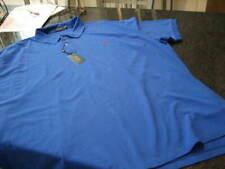NWT - Mens RALPH LAUREN Blue Classic Fit  Short Sleeve Polo Shirt (4XB)
