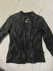 Tripp NYC Joan Jett Black Leather Jacket