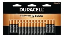 24 Duracell AAA Alkaline 1.5V Batteries