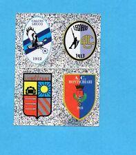 PANINI CALCIATORI 2006-2007- Figurina n.K1/4-LECCO+LEGNANO+LUMEZZ. -SCUDETTO-NEW