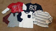 Lot of 5 Boys Long Sleeve Shirts 3t Nautica Carters Epic Threads Garanimals