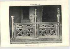 1902 Rimini Cathedral Balustrade In Front Of Chapels