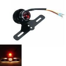 Motorcycle Tail Brake Lamp Red Light For Harley Bobber Chopper Cafe Racer