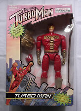 """1996 TIGER ELECTRONICS JINGLE ALL THE WAY DELUXE 13"""" TALKING TURBOMAN MISB"""