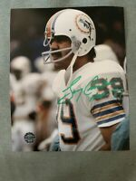 "Larry Csonka Hans Signed Autographed 8X10"" Picture Photo Miami Dolphins COA"