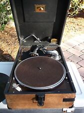 VINTAGE 20's HIS MASTERS VOICE The Gramophone Ltd HAYES MIDDLESEX MODEL 102