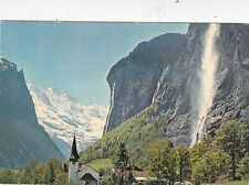 Lauterbrunnen Switzerland Postcard used VGC