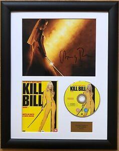 Uma Thurman / Kill Bill / Signed Photo / Autograph / Framed / COA