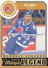 2014-15 O-Pee-Chee Hockey #584 Joe Sakic Quebec Nordiques