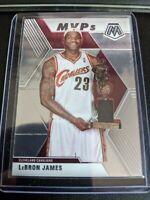 2019-20 Panini Mosaic LEBRON JAMES MVP Insert #298 Cavaliers Lakers