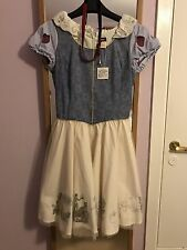 Disney Japan Secret Honey Snow White Dress With Tag & Hairband