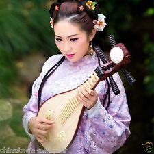 New Rosewood Liuqin, Chinese Soprano Pipa Lute Guitar Musical Instrument #4028