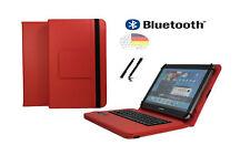 """Tastatur Hülle für Samsung Galaxy Tab 2 P5110 Bookcover BT Rot 10.1"""""""