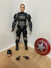 Marvel Legends Stealth Captain America Marvel Gamer verse Figure LOOSE Joe FIXIT