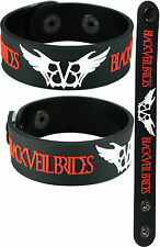 BLACK VEIL BRIDES  NEW! Bracelet Wristband aa135 Wing logo/Knives and Pens