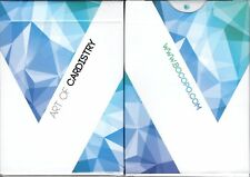 Art of Cardistry Blue Playing Cards Poker Size Deck USPCC BOCOPO Custom Limited