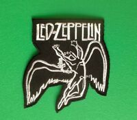 HEAVY METAL PUNK ROCK MUSIC FESTIVAL SEW ON / IRON ON PATCH:- LED ZEPPELIN (a)