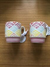 PORTMEIRION TRUE COLORS MUG CUP HAPPY SNAPPY TEA COFFEE CUPS QUIRKY