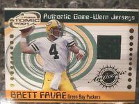 Brett Favre - Green Bay Packers - Game Worn Jersey Football Card