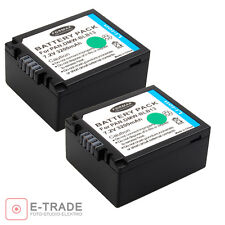 2x  Camera Battery DMW-BLB13 DMW-BLB13E for PANASONIC Lumix DMC-G2 G1 G10
