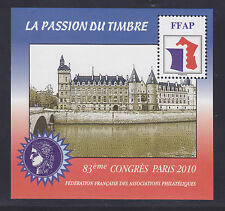 BLOC FFAP N°  4 ** MNH neuf, 83 ème Congrès PARIS 2010, TB