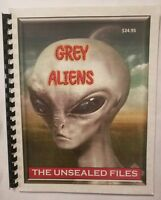 Grey Aliens: The Unsealed Files, A Blue Planet Project Book!