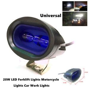 2X 20W LED Spot Work Light ATV UTV Boat Driving Fog Warning Lamp Waterproof Part