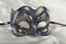 Navy Blue Joker Plain - Masquerade Masks for Men for Venetian Ball