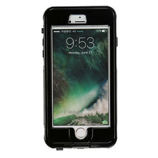 Water Resistant Shockproof Diving Heavy Duty Case Cover for iPhone 6 6s 7 7 Plus Black iPhone 7