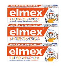 3 x ELMEX Toothpaste Children Kids 0-6 Years old 50ml 1.69oz (3 Pack)