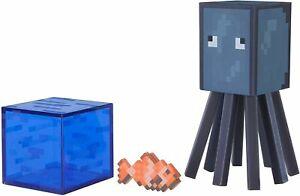 Minecraft   Tintenfisch   mit Accessoire   Sammelfigur   Neu