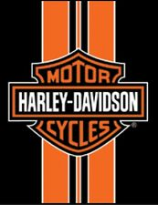 Harley Davidson Stripe Beach Blanket (54x68)