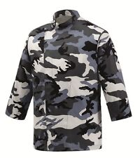 Chef Jacket Art. EGOCHEF Made IN Italy Camouflage Breathable Spall