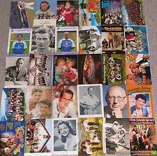 30 Stück AK Berühmte Persönlichkeit Unterschriftenkarte Lot Sammlung LOT08483