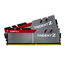 G.SKILL 16GB (8GB X 2) DDR4 3200MHZ TRIDENT Z Dual Channel (F4-3200C16D-16GTZB)