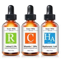 Isner Mile 30ml Skin Care Pure Vitamin C Serum Hyaluronic Acid Retinol Serum