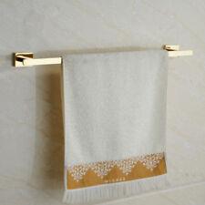 Stainless Steel Bathing Towel Bar Single Rack Holder Bathroom Wall Hanger Shelf