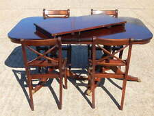 Mahogany Living Room Up to 8 Seats Table & Chair Sets