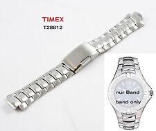 TIMEX Cinturino di ricambio t28812 Classic Orologio - 12/22 mm acciaio inox