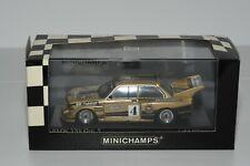 Minichamps BMW 320i Gr. 5 Warsteiner J. Obermoser DRM 1977 1/43 OVP/MIB