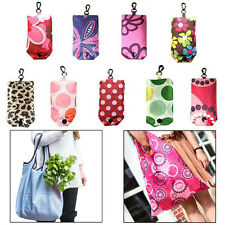Fashion Foldable Handy Shopping Bag Reusable Tote Pouch Recycle Storage Handbags