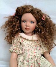 Monique Ellowyne Rose Wig 7 1/4 for Effner Little Darlings Kish KID Auburn STB