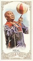 2012 Topps Allen & Ginter Baseball Mini A&G Back #85 Curly Neal Globetrotters