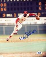 Bob Gibson PSA DNA Coa Hand Signed 8x10 Photo Autograph