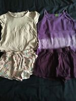 Bundle Of Girls Summer Clothes 5-6 Years Inc George Pep&Co