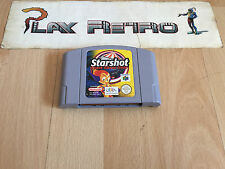 NINTENDO 64 N64 STARSHOT SPACE CIRCUS FEVER SOLO CARTUCHO PAL EUR