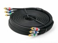 Atlona 1m 3ft Component Video HDTV RGB YUV Cable 1080P RG6 Double Shielded